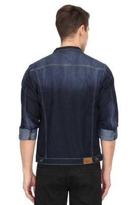 Mens 4 Pocket Washed Jacket