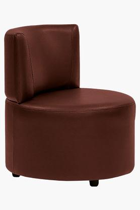 Garnet Cherry Leatherette Modular Sofa (Seater)