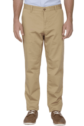 U.S. POLO ASSN. Mens Slim Fit Solid Chinos - 200766420