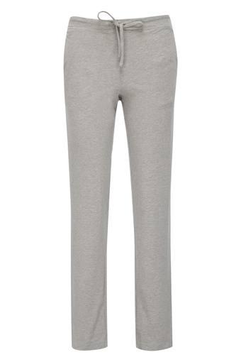 Womens 2 Pocket Solid Lounge Pants