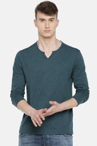 CELIO -  Green T-shirts - Main
