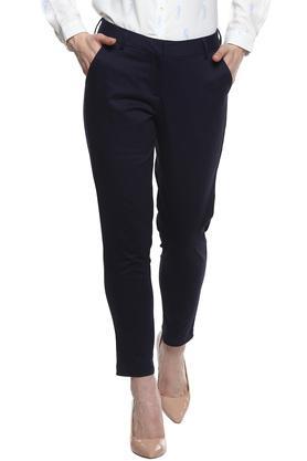 ALLEN SOLLY - Dark BlueTrousers & Pants - Main