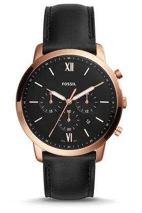Mens Neutra Analogue Leather Watch - FS5381