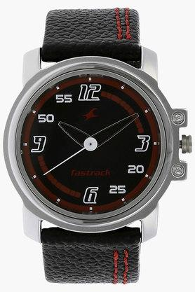 FASTRACK Mens Black Dial Analog Watch