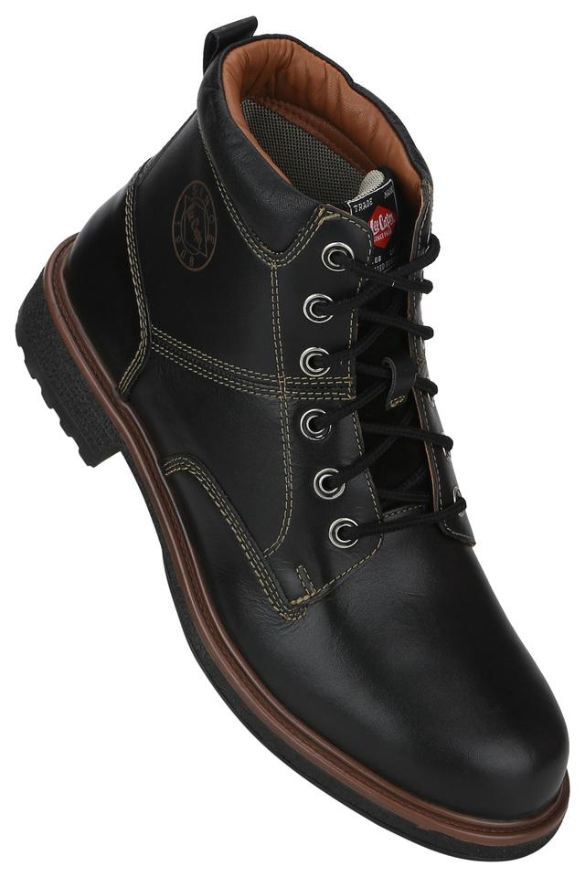 Mens Leather Lace Up Boots