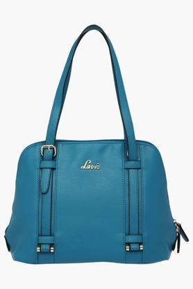 LAVIE Womens Zipper Closure Satchel Handbag  ...