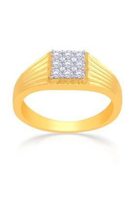 MALABAR GOLD AND DIAMONDSMens Mine Diamond Ring R59242A Size 29