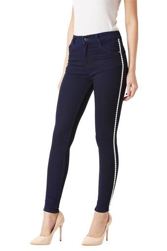 MISS CHASE -  NavyJeans & Jeggings - Main