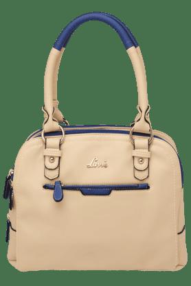 LAVIEWomens Oliva 3 Compartment Zipper Closure Medium Satchel