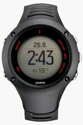 SUUNTO Unisex Ambit3 Run Black Heart Rate Monitor Watch