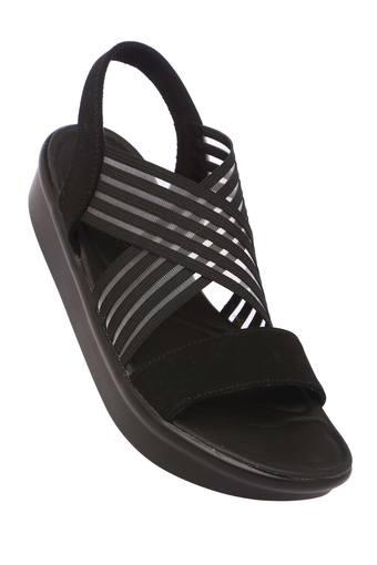 SKECHERS -  Black Platform & Wedges - Main