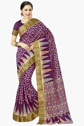 DEMARCAWomens Silk Designer Saree - 202338121
