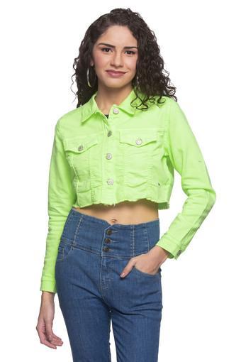 JEALOUS 21 -  Lime GreenJackets & Shrugs - Main