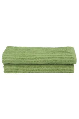 Stripe Textured Bath Towel Set of 2