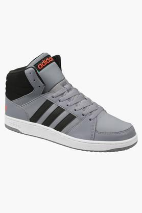 ADIDAS Mens Leather Lace Up Sport Shoes  ...