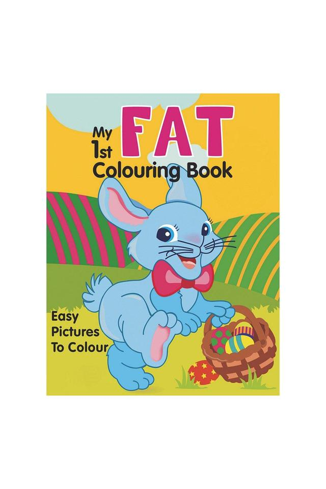 My 1st Fat Colouring Book (My 1st Thick Series (2T))
