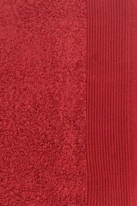 MASPAR - Red Bath Towel - 2