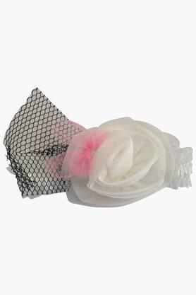 Girls Solid Corsage Rose Headband (0 - 4 Years)