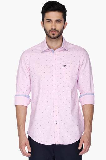 Mens Sports Slim Fit Printed Anti UV Shirt