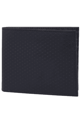 LIFE Mens 1 Fold Leather Wallet