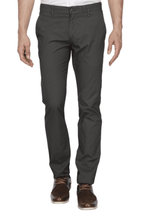 LOUIS PHILIPPE SPORTS Mens Slim Fit Solid Chinos - 200573214