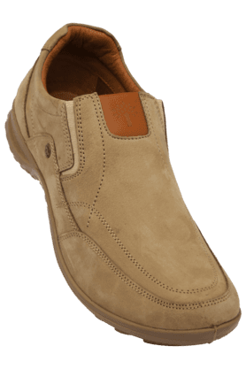 WOODLAND Mens Nubuk Leather Slipon Casual Shoe
