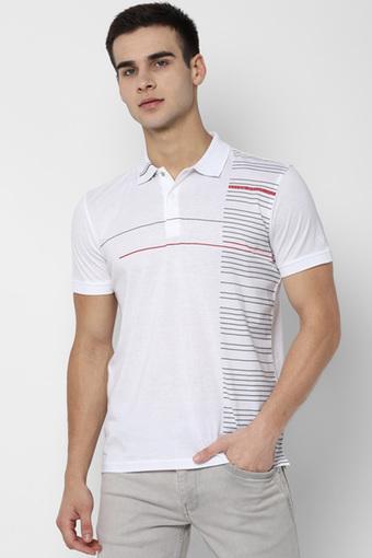 ALLEN SOLLY -  WhiteT-shirts - Main