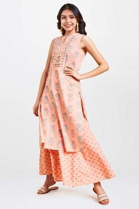 GLOBAL DESI - PeachGlobal Desi - Buy 2 Merchandise and get Rs 500 Off - 3