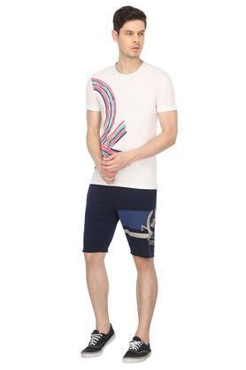 Mens 3 Pocket Printed Shorts