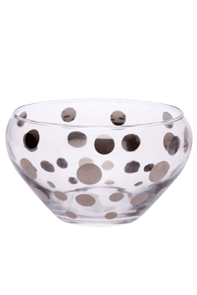 IVY Round Fruit Salad Glass Bowl