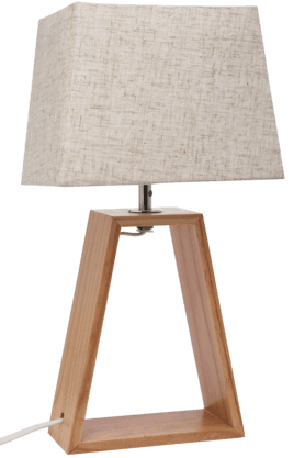 IVY Wood Table Lamp