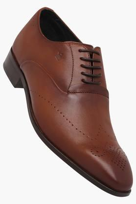 LOUIS PHILIPPE Mens Leather Lace Up Formal Shoes  ... - 202128512