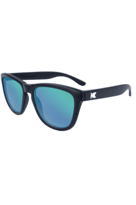 KNOCKAROUND Premium Unisex Sunglassess Black/POLARIZED Green Moonshine-PMGM3001 (Use Code FB20 To Get 20% Off On Purchase Of Rs.1800)