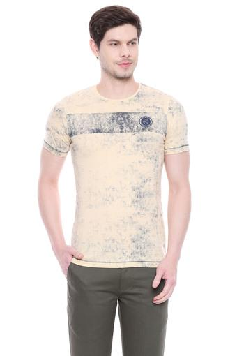 KILLER -  Khaki T-shirts - Main