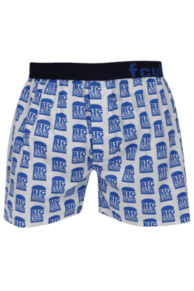 FCUK Mens Stretch Printed Boxers - 200198713