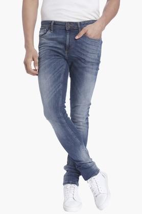Jack And Jones Jeans (Men's) - Mens 5 Pocket Stretch Jeans (Liam Fit)