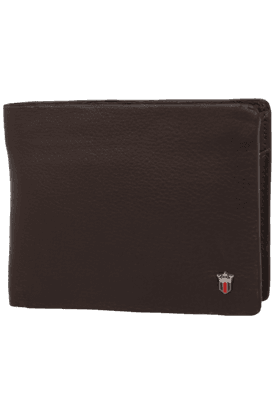 LOUIS PHILIPPE Mens 1 Fold Leather Wallet