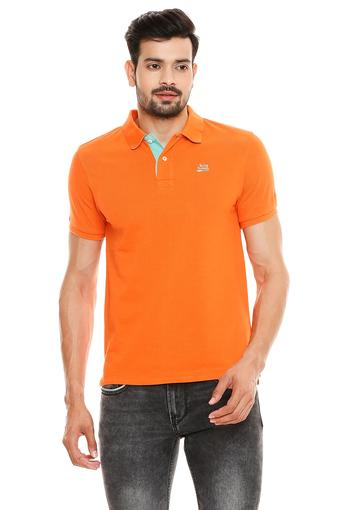BEING HUMAN -  OrangeT-shirts - Main