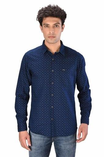 MOUSTACHE -  Blue Casual Shirts - Main