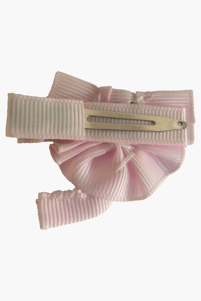 Girls Elephant Motif Grosgrain Ribbon Hair Clip (0 - 8 Years)