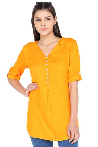 SANAA -  Yellow Tops & Tees - Main