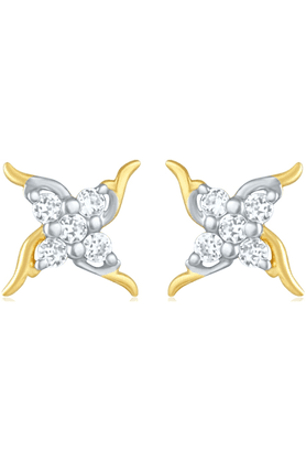 MAHIGold Plated Earrings With CZ For Women ER1103808G