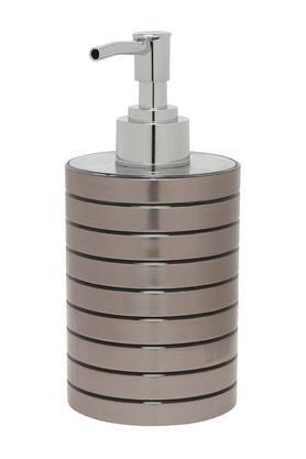 Round Stripe Textured Soap Dispenser