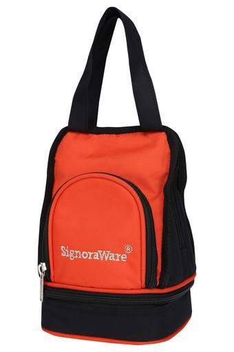 SIGNORAWARE Rectangular Solid Carry Lunch Box with Bag Set of 5