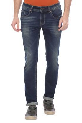 Mens Slim Fit Mild Wash Jeans (Norris Fit)