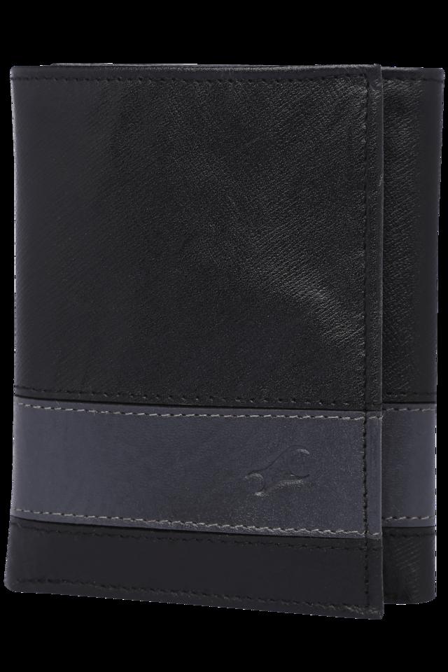 Mens Genuine Leather 2 Fold Wallet