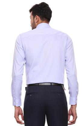 RAYMOND - Mid BlueFormal Shirts - 1