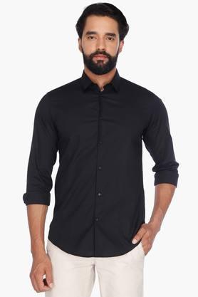 Arrow Nyc Formal Shirts (Men's) - Mens Full Sleeves Casual Solid Shirt