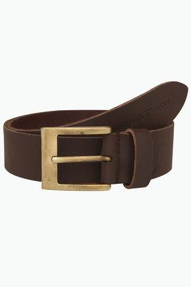 VETTORIO FRATINI Mens Leather Casual Buckle Belt