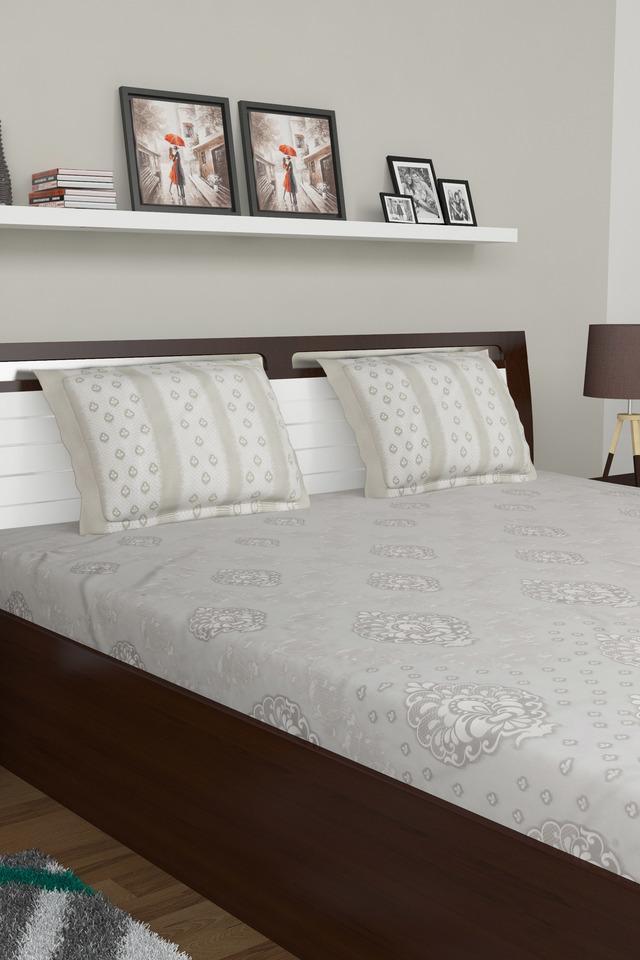 Printed King Bed Sheet